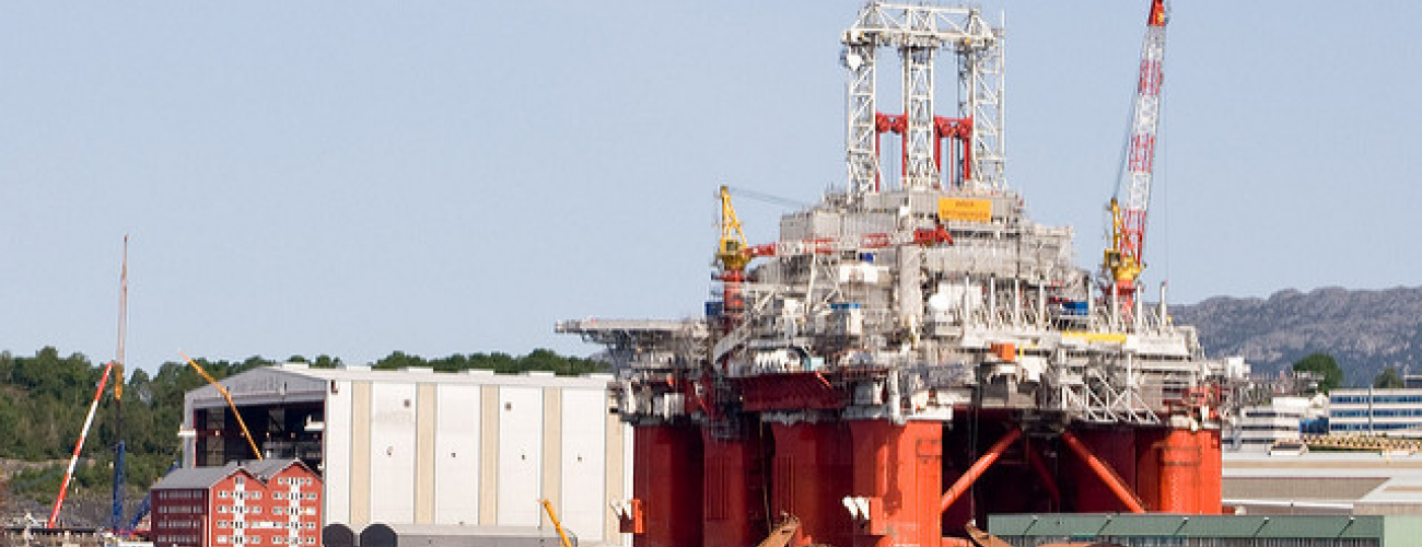 Green oil: offshore rig technology disruption in Norway continues